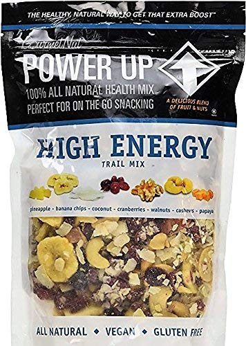 Gourmet Nut Power Up 100 All Natural Health Mix High Energy Trail