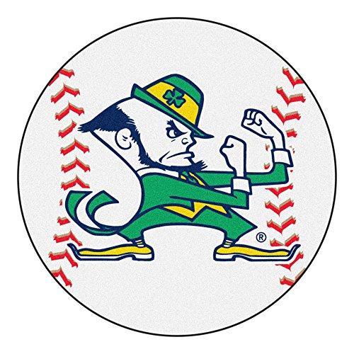 Notre Dame Baseball Rug - Fan Mats University of Notre Dame Fighting Irish Baseball Area Rug