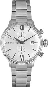شيروتي 1881 ساعة رسمية رجال انالوج بعقارب ستانلس ستيل - CRA178SN03MS