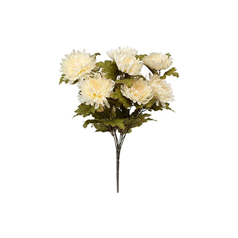 silk flower arrangements oakridge artificial mum bush silk floral décor