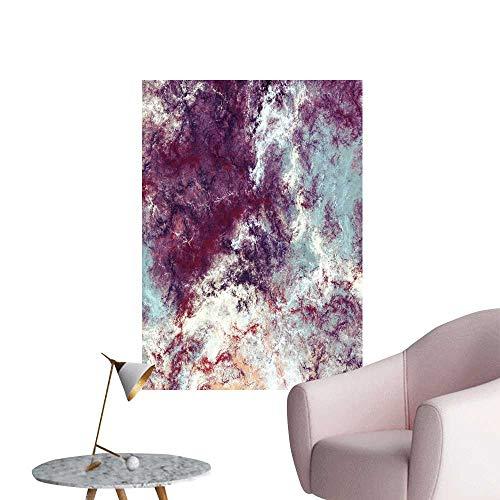 (SeptSonne Wall Decals Blue purplae Soft Color backgroun dynami Paint Texture Environmental Protection Vinyl,20