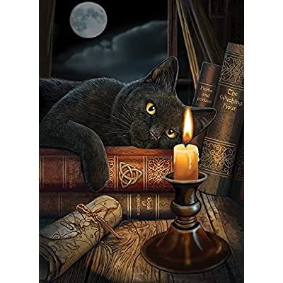 Cobblehill 80013 1000 pc The Witching Hour Puzzle, Various: Toys & Games