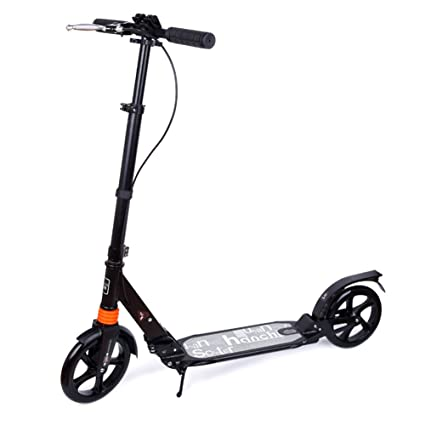 Patinete- Scooter Adult Two Rounds Plegable City Car Teens ...