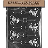 Dress My Cupcake Chocolate Candy Mold, Mouse Lollipop Mickey
