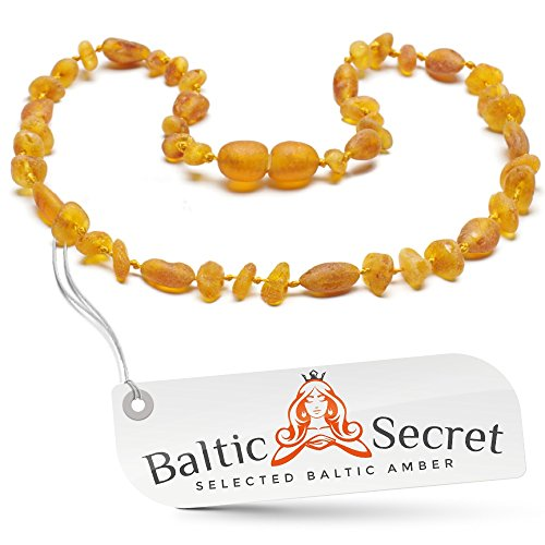 Premium Amber Teething Necklace / Extra Safe / 50% Richer an