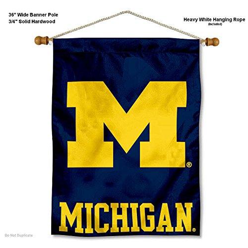Michigan Wolverines Wall Banner