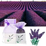 Quietcloud Lavender Sachets Craft Bag Household Air Fresheners A Natural Dried Flower Sachet Bag Fragrance Home Car Air Scented Refresh Bag Random Color