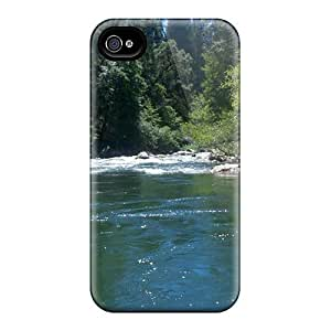 Durable Case For The Iphone 4/4s- Eco-friendly Retail Packaging(bear River California)