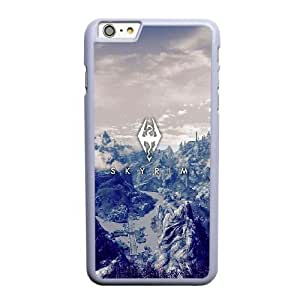 Custom made Case,the Elder Scrolls Cell Phone Case for iPhone 6 6S 4.7 inch,White Case With Screen Protector (Tempered Glass) Free S-7264299