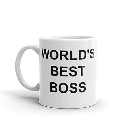 Amazoncom The Office Michael Scotts Worlds Famous Boss Mug