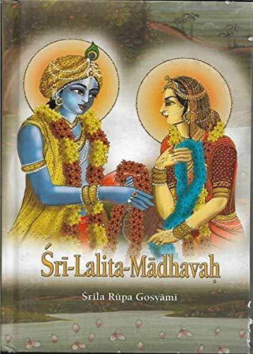 Krishna Book Store Devotional Books Sri Lalita Madhavah By Srila Rupa Goswami
