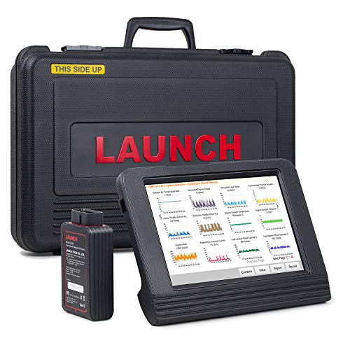 LAUNCH X431 V Pro (Same Function with X431 V+) Bi-Directional Bluetooth Scan Tool Full System OBD2 Diagnostic Scanner with ECU Coding,Key Fob Programming, TPMS Reset, SAS, DPF, EPB, ABS Bleeding ()