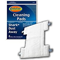 EnviroCare Replacement Cleaning Pads designed for Shark Dust Away Steam Mops 4 pack
