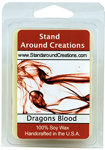 100% Soy Wax Melt Tart - Dragon's Blood - A potent and earth