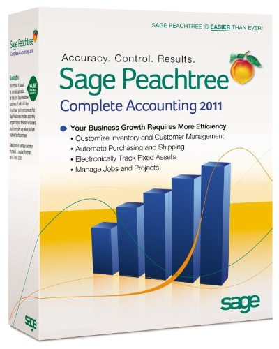 Amazon.com: Sage Peachtree Complete Accounting 2011 [OLD VERSION ...
