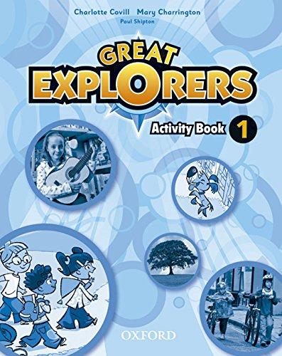Great Explorers 1: Activity Book - 9780194507011: Amazon.es ...