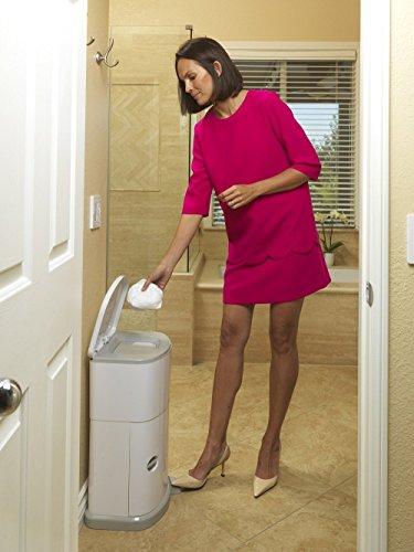 JANM330DAEA - AKORD Adult Diaper Disposal System, White
