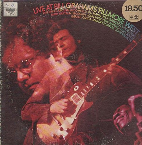 Live At Bill Graham's Fillmore West (Mike Bloomfield Live At Bill Grahams Fillmore West)