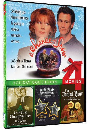 4-Movie Holiday: A Chance of Snow/Our First Christmas Tree/The Answer and The Gift/The Joyful Hour (Hours Christmas 1 Super)