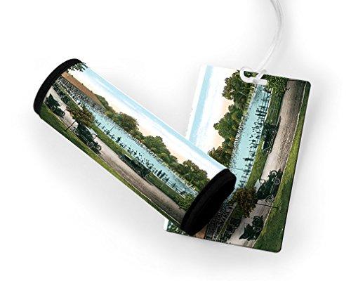 Pool, Reservoir Park, Louisville, Ky Luggage Finder Tag & Wrap