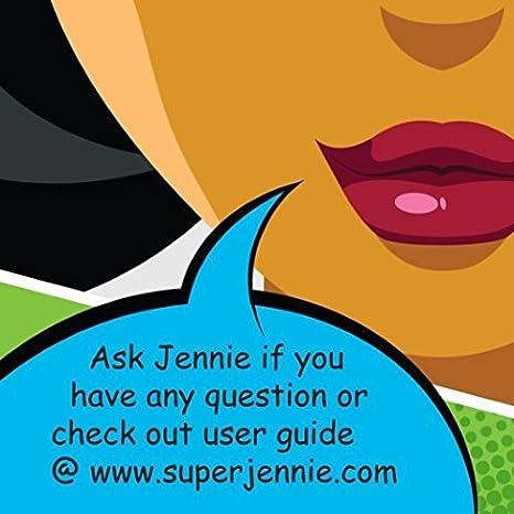 Super Jennie Menstrual Cup - Made in USA - FDA Registered (Small, Blue) - by Super Jennie