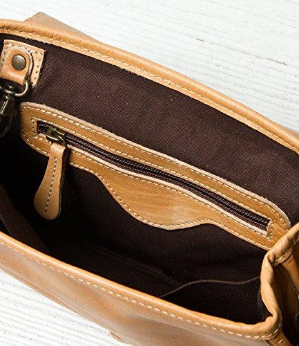 Bag Bed Stu Sequoia Natural Crossbody Vecheta Leather pwpIq0xUO