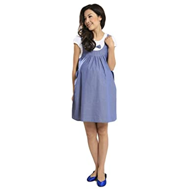 de8d194463 Image Unavailable. Image not available for. Color: Nat Terry Women  Maternity Dresses, Summer Casual ...
