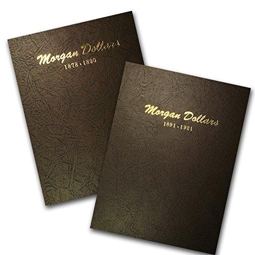 Morgan Dollar Set (1878 - 1921 95-Coin Morgan Dollar Set (2 Dansco Albums) Very Good)