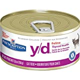 Hill's Diet y/d Feline Thyroid Health Canned Cat Food (24 -5.5oz cans) by prescription diets