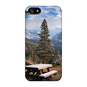 TinnySunshine Snap On Hard Case Cover Fantastic Nature View Protector For Iphone 5/5s