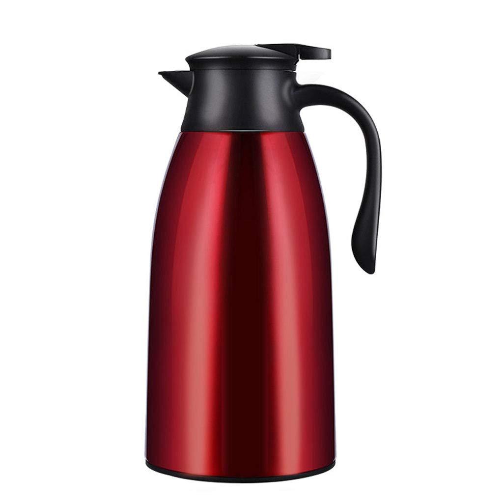 FYCZ Isolierung Topf, 1.9L Vakuum Krug Haushalt große Kapazität Thermoskanne Kaffee Edelstahl Saft Milch Tee Kolben