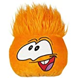Disney Club Penguin 8 Inch JUMBO Plush Puffle Orange Includes Coin with Code! by Jakks Pacific