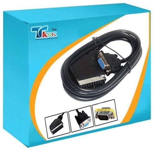 1 opinioni per 1,8 m Scart a VGA maschio/SVGA 15 pin HD cavo, Questo è un grande valore a VGA