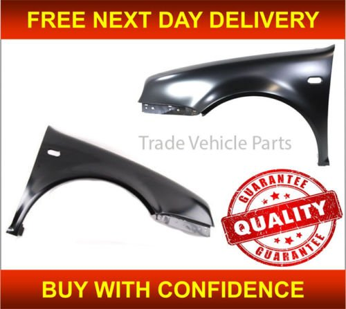 Trade Vehicle Parts VK2187 Front Wing Primed Pair Left & Right Generic