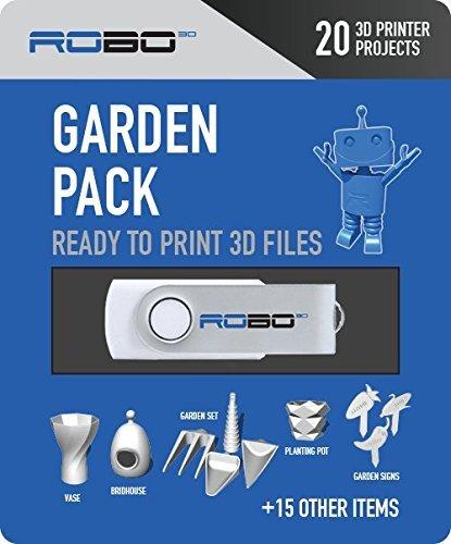 ROBO 3D Printer Certified Print Pack, 20 Bath Themed 3D
