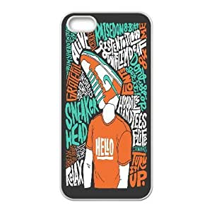 For Ipod Touch 4 Phone Case Cover Girls Typography Hello, Funny Saying For Ipod Touch 4 Phone Case Cover Cheap [White]