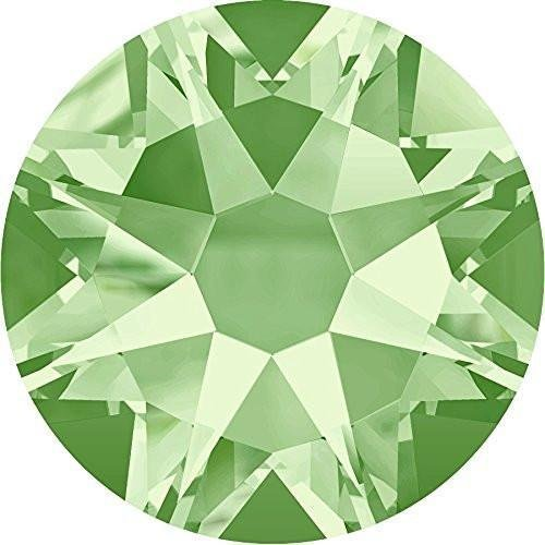 2000, 2058 & 2088 Swarovski Flatback Crystals Non Hotfix Chrysolite | SS20 (4.7mm) - Pack of 1440 (Wholesale) | Small & Wholesale (Chrysolite Pack)