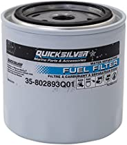 Quicksilver 802893Q01 Water Separating Fuel Filter - Mercury and Mariner Outboards and MerCruiser Stern Drive