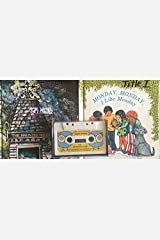 Bill Martin Recording - Instant Reader Set - Monday, Monday, I Like Monday & The Haunted House - Two Hardcover Books and Cassette Audio Cassette