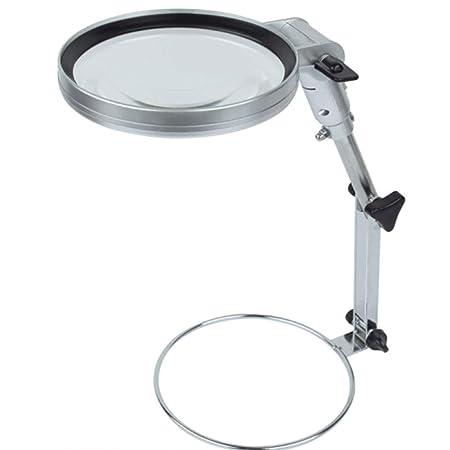 Luz LED 5x Lupa Mesa de trabajo Anillo auxiliar Mesa de trabajo ...