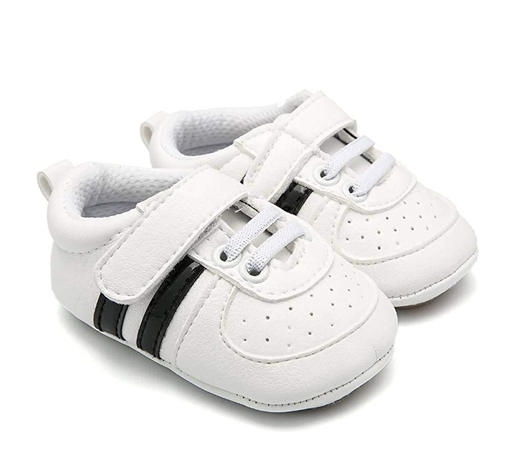Buy-Box Kids Unisex Started Walker Shoes Baby Casual Sports Soft Canvas Shoes
