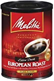 Melitta 60142 10.5 oz European Roast Extra Dark Ground Coffee