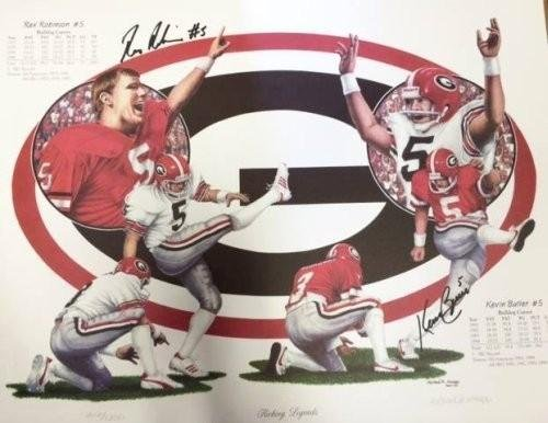 kevin-butler-rex-robinson-multi-autographed-signed-georgia-bulldogs-kicking-legends-16x20-limited-ed
