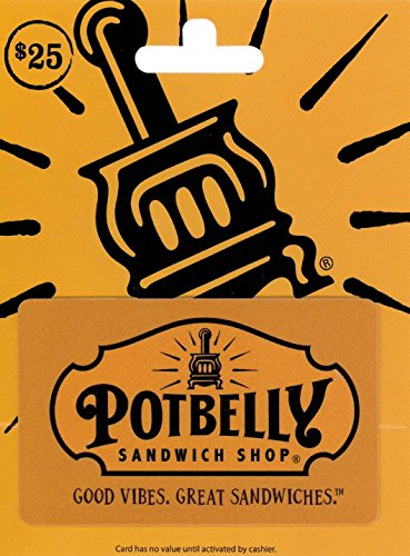 Potbelly Sandwich Shops Gift Card