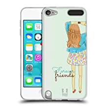 Head Case Designs Infinity Dress My BFF Cases Soft Gel Case for Apple iPod Touch 6G 6th Gen