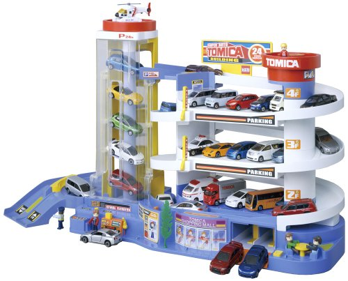Super Auto Toy Vehicles Tomika Building