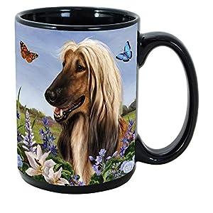 Imprints Plus Dog Breeds (A-D) Afghan Hound 15-oz Coffee Mug Bundle with Non-Negotiable K-Nine Cash (afghan 000) 2