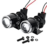 Best projector fog lights reviews 2 astra depot 2x 55w h3 projector glass lens driving fog lamp light halogen bulb bracket publicscrutiny Image collections