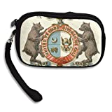 Missouri State Coat Of Arms Deluxe Printing Small Purse Portable Receiving Bag