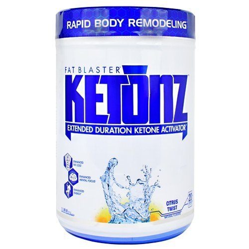 VPX KETONZ Fat Blaster Extended Duration Ketone Activator BHB Zero Sugar Citrus Twist 20 Servings